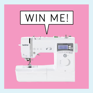 Win a Brother A16 Sewing Machine worth £289!