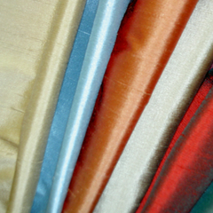 Fabrics - Plain Satins / Silks / Sateens