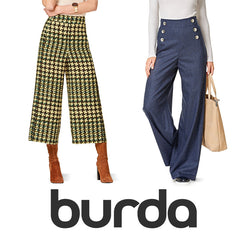 Burda Patterns - Trousers & Shorts