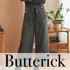 Butterick Patterns - Trousers & Shorts