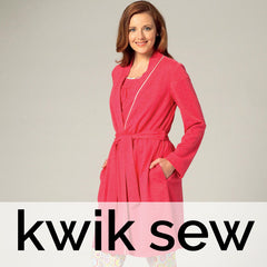 Kwik Sew Patterns - Sleepwear, Pyjamas, Gowns / Robes
