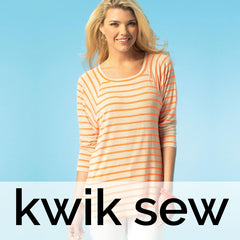 Kwik Sew Patterns - Tops, Shirts & Blouses