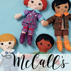 McCall's Patterns - Crafts (Dolls, Toys, Home Décor, Pet Clothes etc.)