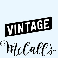 McCall's Patterns - Vintage