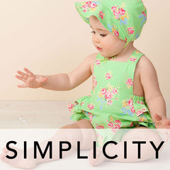 Simplicity Patterns for Babies / Small Infants