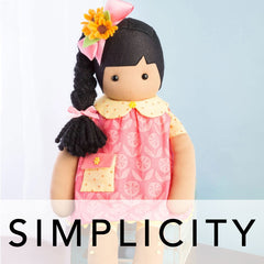 Simplicity Patterns - Crafts (Dolls, Toys, Home Décor, Pet Clothes etc.)