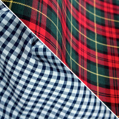 Fabrics - Checkered / Tartans / Ginghams