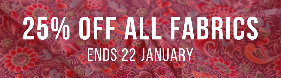 25% OFF FABRICS … WeaverDee.com Sewing & Craft