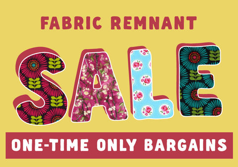 Fabric Remnant SALE at WeaverDee.com