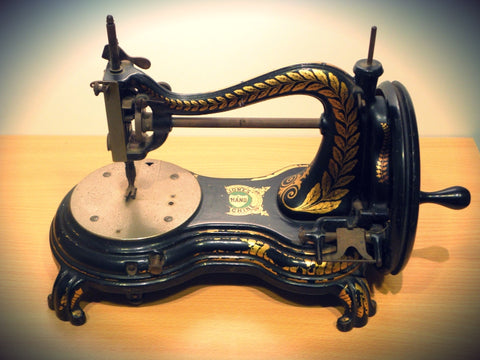 Antique Vintage Jones Sewing Machine … WeaverDee.com Sewing & Crafts - Blog