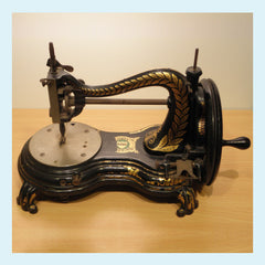 Vintage Antique Jones Sewing Machine … WeaverDee.com