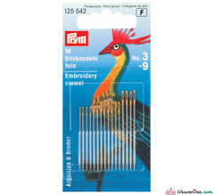 Prym - Crewel Needles - WeaverDee.com Sewing & Crafts