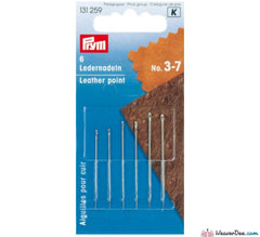 Prym - Leather Needles - WeaverDee.com Sewing & Crafts