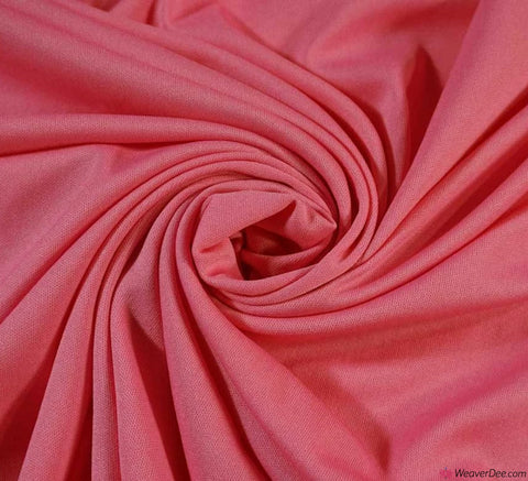 Poly Jersey Fabric - Candy Pink