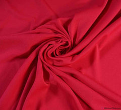 Poly Jersey Fabric - Cerise