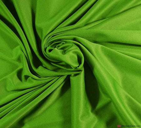 Poly Jersey Fabric - Emerald