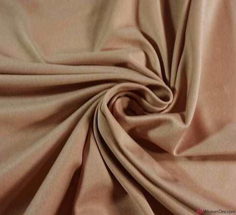 Poly Jersey Fabric - Nude
