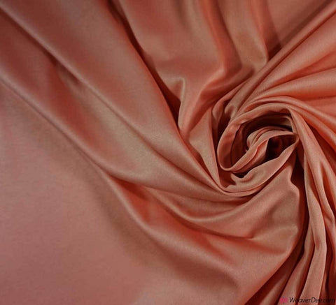 Poly Jersey Fabric - Peach