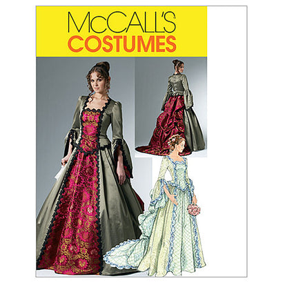 McCall's - M6097 Misses' Victorian Dress Costume - WeaverDee.com Sewing & Crafts - 1
