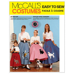 McCall's - M6101 Vintage 1950s Pull-On Skirt & Petticoat (Girls' + Misses') - WeaverDee.com Sewing & Crafts - 1