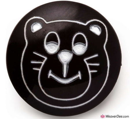 PRYM Teddy Bear's Face Buttons