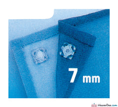 Prym - Press Studs (Sew-On) - Clear Plastic 7mm - Pack of 12 - WeaverDee.com Sewing & Crafts - 1