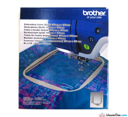 Brother Embroidery Frame: 150 × 150mm (6 × 6in) NV800/4000/NV1/V-series/XV