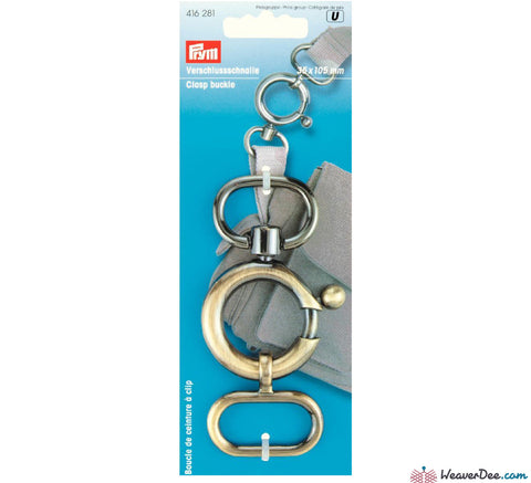Prym - Clasp Buckle - WeaverDee.com Sewing & Crafts - 1