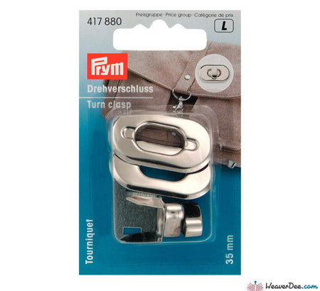 Prym - Silver Turn Clasp - WeaverDee.com Sewing & Crafts - 1