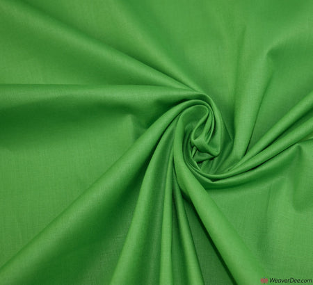 Plain Cotton Fabric / Lime Green (60 Square)