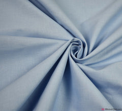Plain Cotton Fabric / Sky Blue (60 Square)