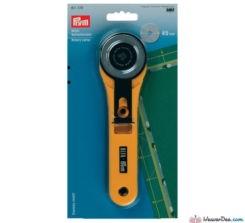Prym - Olfa Maxi Rotary Cutter 45mm - WeaverDee.com Sewing & Crafts - 1