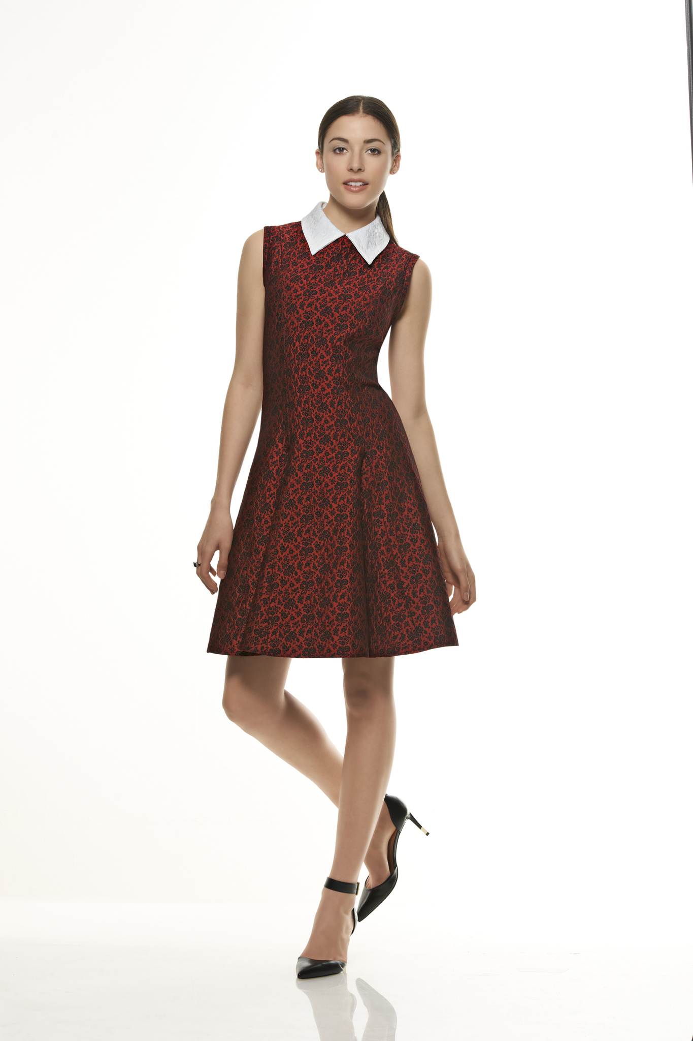 New Look Pattern Nl6299 Misses Dress With Neckline Sleeve