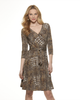 New Look - NL6301 Misses' Mock Wrap Knit Dress - WeaverDee.com Sewing & Crafts - 2