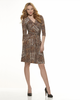 New Look - NL6301 Misses' Mock Wrap Knit Dress - WeaverDee.com Sewing & Crafts - 5