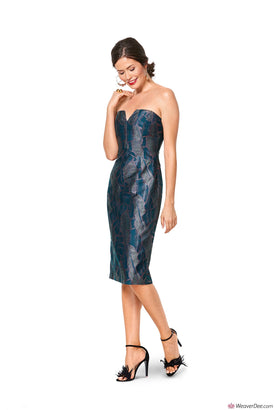 Burda Pattern BD6346 Misses' Special Occasion Dress