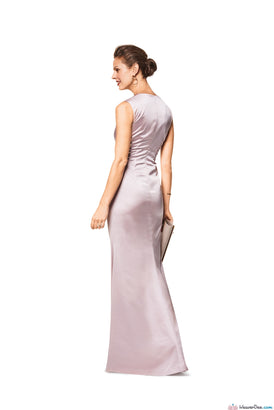 Burda Pattern BD6442 Women's V Neck Evening Dress