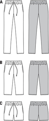 Burda - BD6938 Pants | Easy - WeaverDee.com Sewing & Crafts - 1