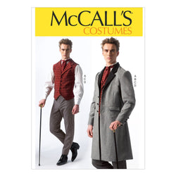 McCall's Pattern M7003 Men's Victorian Costumes