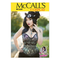 McCall's - M7339 Misses' Overbust or Underbust Corsets by Yaya Han - WeaverDee.com Sewing & Crafts - 1