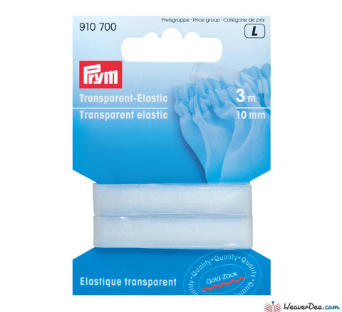 Prym - Clear Transparent Elastic - WeaverDee.com Sewing & Crafts