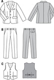 Burda - BD9433 Boys Suit | Advanced - WeaverDee.com Sewing & Crafts - 2
