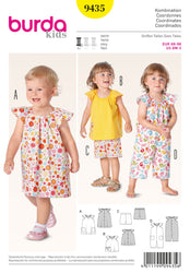 Burda - BD9435 Baby Coordinates | Easy - WeaverDee.com Sewing & Crafts - 1
