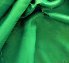Dress Lining Fabric / Emerald Green