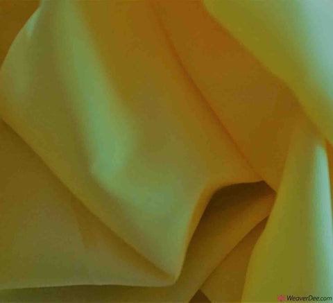 Dress Lining Fabric / Lemon Yellow