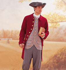 Butterick - B3072 Men's Colonial Costume - WeaverDee.com Sewing & Crafts - 1