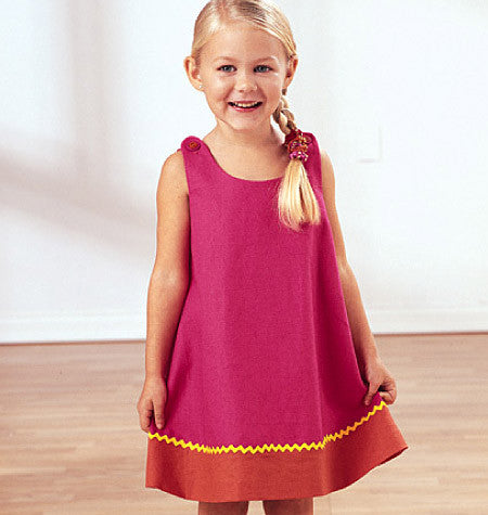 Butterick - B3772 Toddler's & Children's Dress - WeaverDee.com Sewing & Crafts - 1