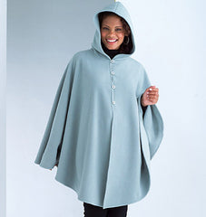 Butterick - B4266 Misses' Poncho | See & Sew - WeaverDee.com Sewing & Crafts - 1