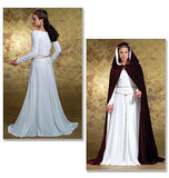 Butterick - B4377 Misses' Costumes | Medieval Dress & Cape - WeaverDee.com Sewing & Crafts - 3