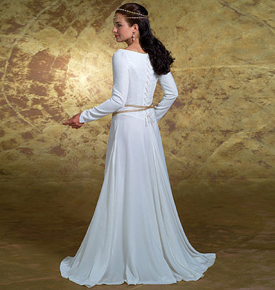 Butterick - B4377 Misses' Costumes | Medieval Dress & Cape - WeaverDee.com Sewing & Crafts - 1